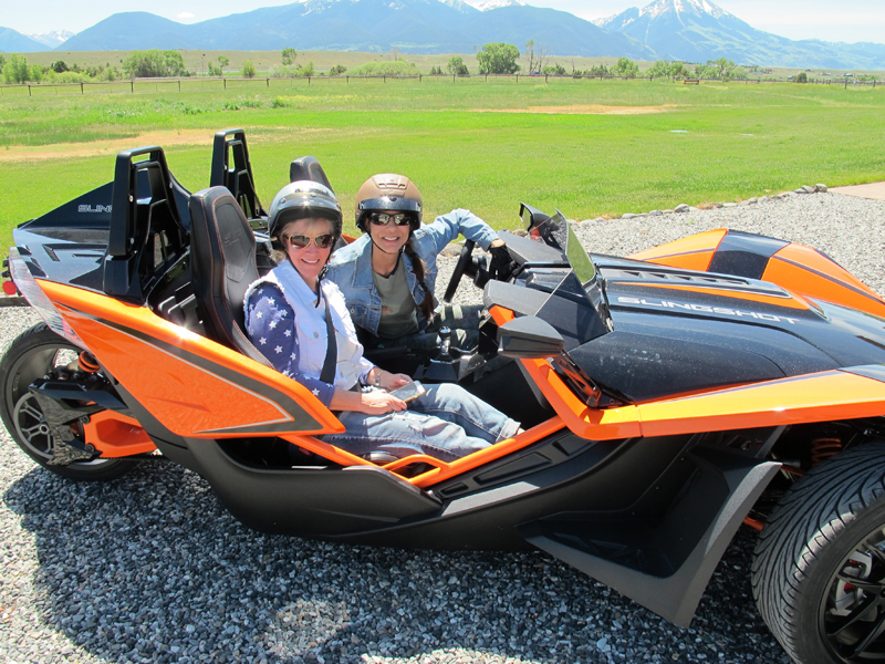 review polaris slingshot everyday rides girlfriends