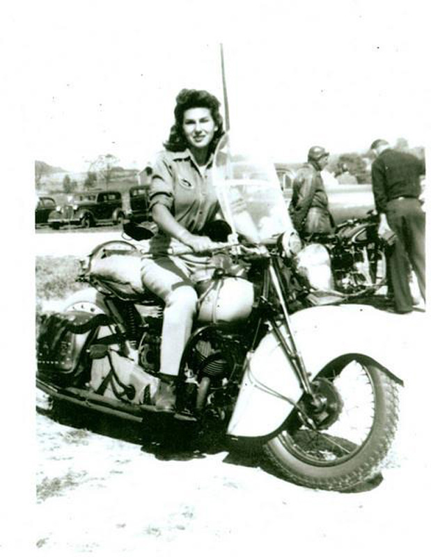 gloria struck to be inducted into ama hall of fame early photo