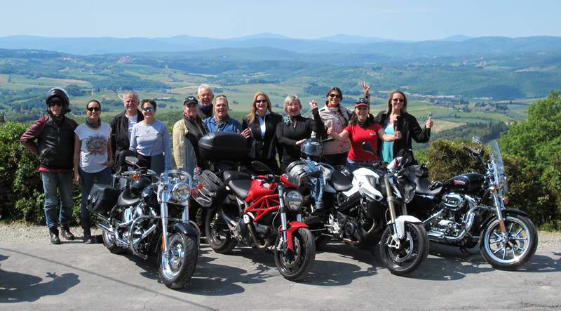 interested in advertising women motorcycle riders