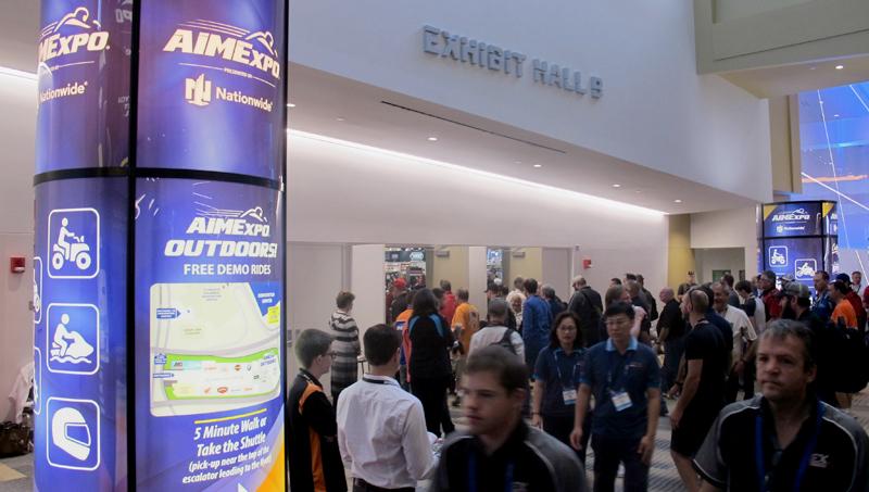 aimexpo roundup product spotlight expo hall