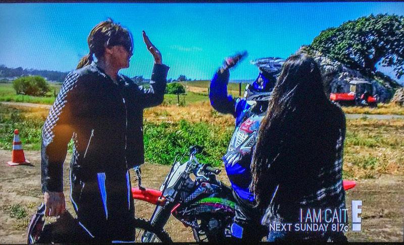 shelina moredas girlz motocamp hosts reality tv star caitlyn jenner and friends E!