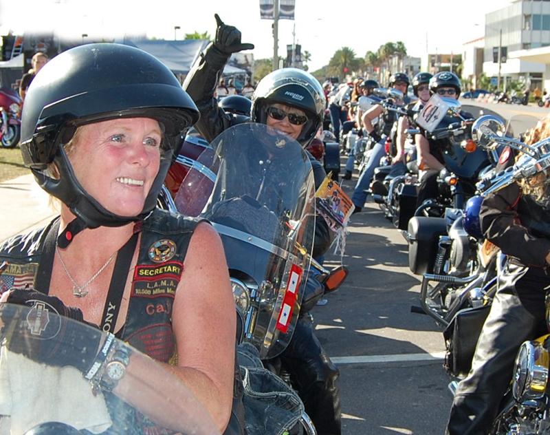 take part in international female ride day
