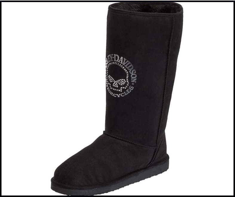 harley davidson ugg style boots