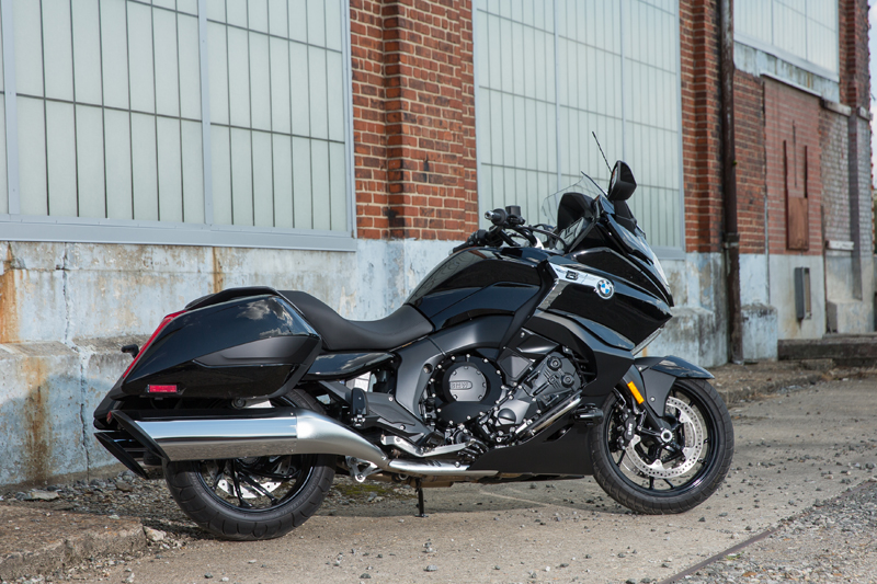 review 2018 bmw k 1600 b a bagger with innovative features stylish