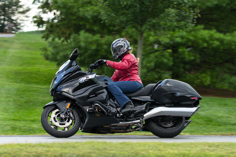 review 2018 bmw k 1600 b a bagger with innovative features