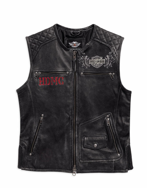 Mesh Motorcycle Riding Jackets from Harley Davidson for Hot Weather Knuck Vest Leather