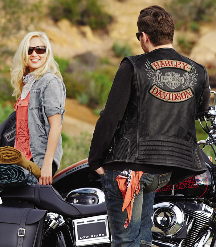 Mesh Motorcycle Riding Jackets from Harley Davidson for Hot Weather Knuck Vest