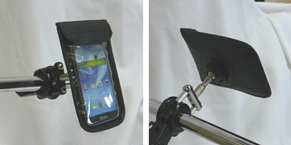 waterproof phone cover mount for motorcycles