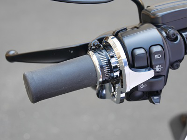 never fumble for harley-davidson horn button again
