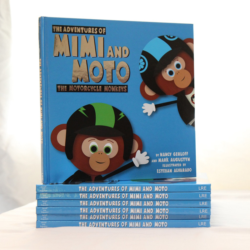 motorcycle monkeys book cover