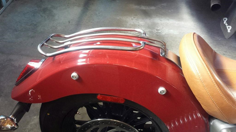 luggage rack for indian motorcycle scout now available
