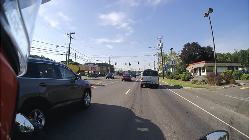 10 factors to consider best lane position on motorcycle escape path