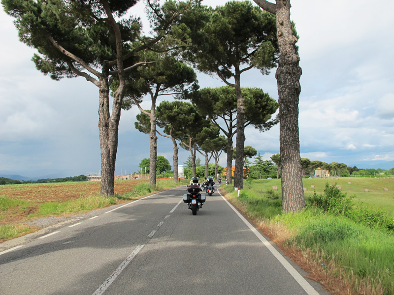 why you should ride a motorcycle in italy once in your life narrow road