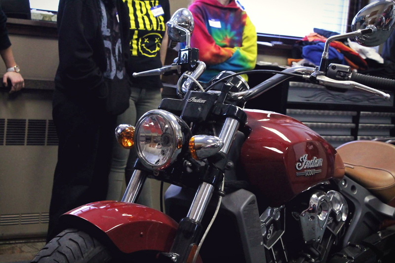 indian motorcycle scout raffle