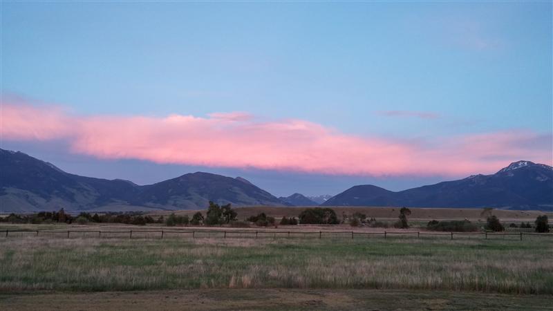 genevieves everday miracles regaining balance pink sunset
