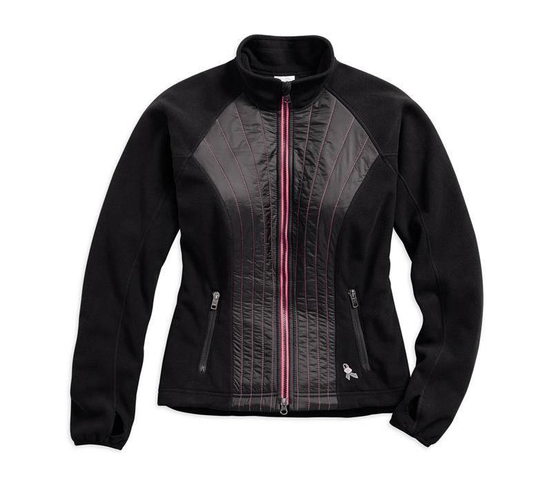 harley davidson pink label gear fleece