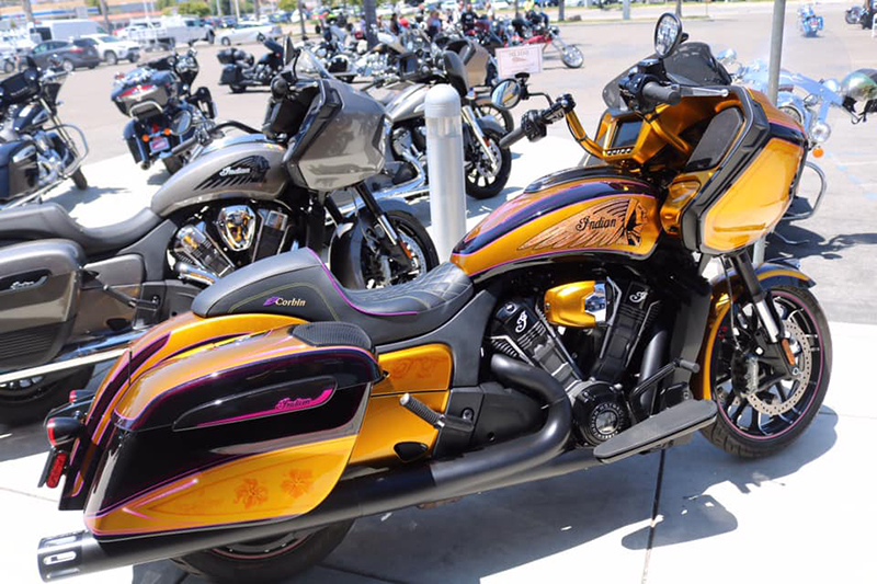 review 2020 indian motorcycle challenger porsche taylor custom paint challenger