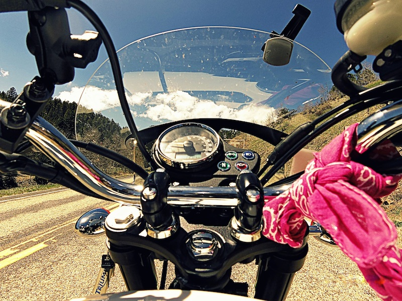 American motorcycle expedition by Polish woman riders view