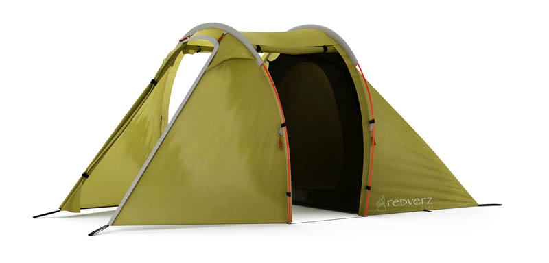 purpose built tents for motorcycle camping solo expedition green