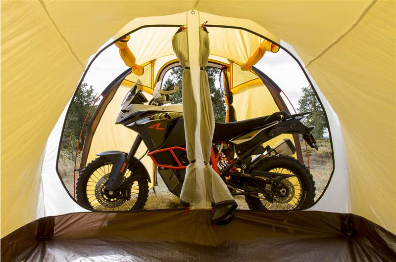 purpose built tents for motorcycle camping atacama