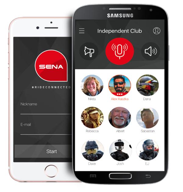 sena launches smartphone app