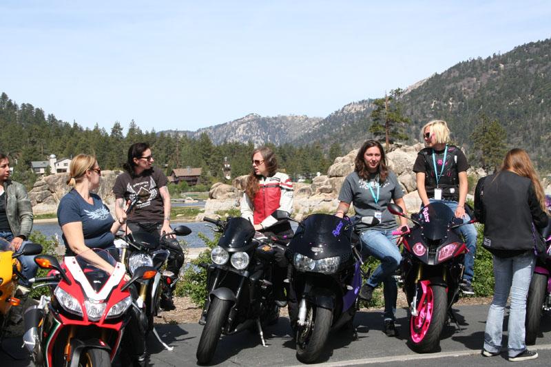 recap of womens sportbike rally west riders in big bear