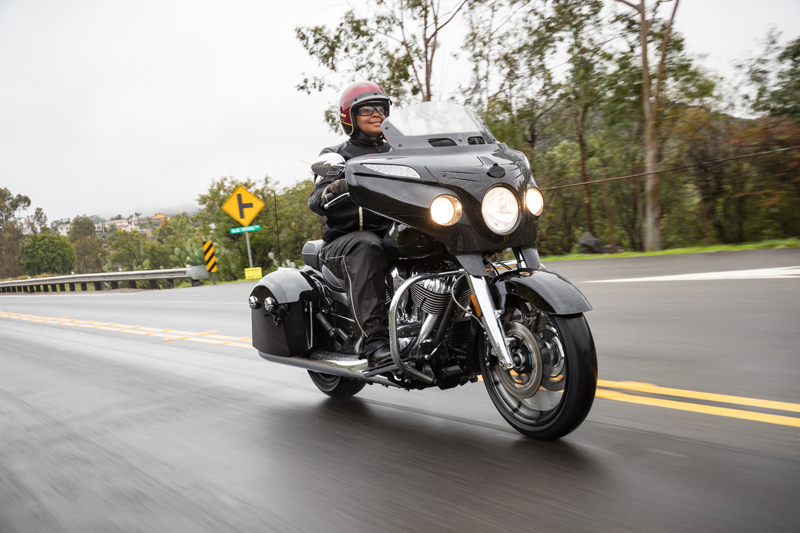 review 2017 indian motorcycle chieftain limited elite riding in rain