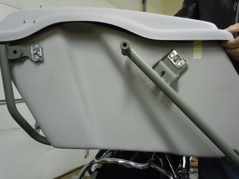your motorcycles a wicked sportster sumax saddlebag