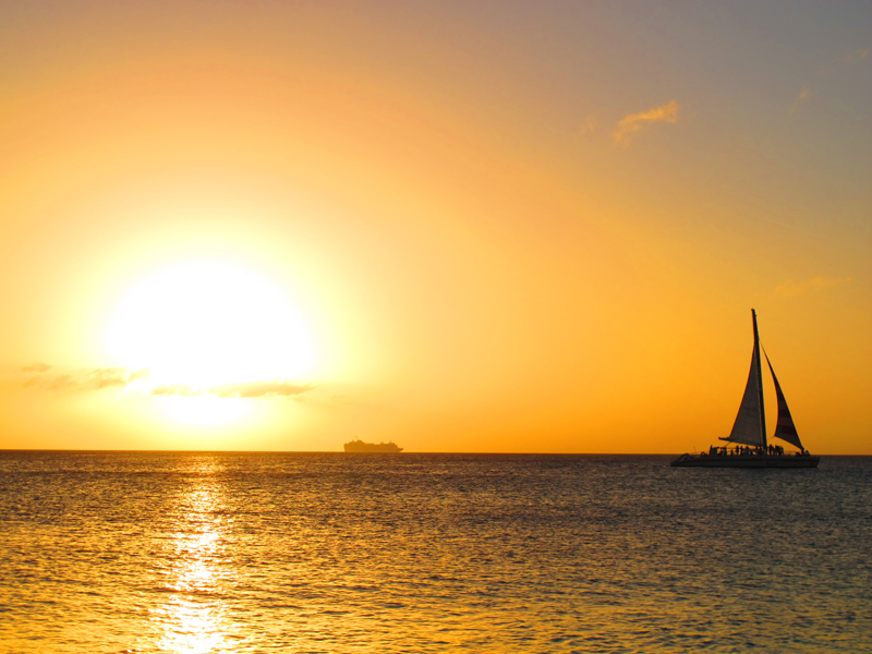 genevieves everyday miracles surrendering to goodness sunrise sailboat