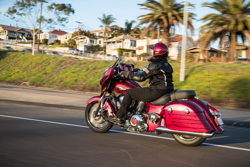 review 2017 indian motorcycle chieftain limited elite sarah riding