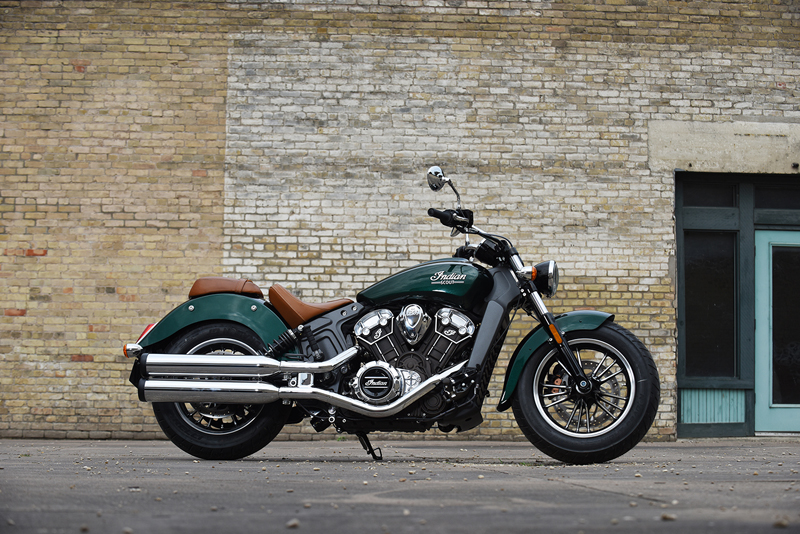 indian motorcycle unveils 2018 models scout green