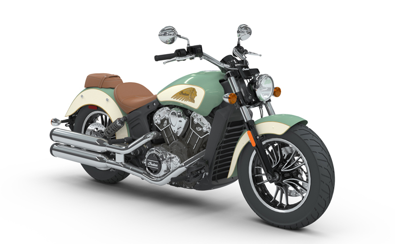 indian motorcycle unveils 2018 models scout light green