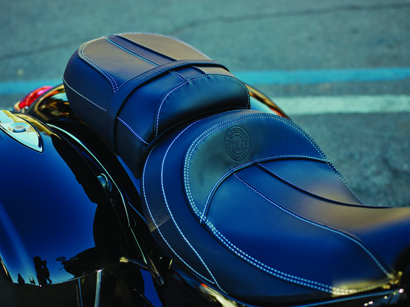 review 2017 indian motorcycle chieftain limited elite seat
