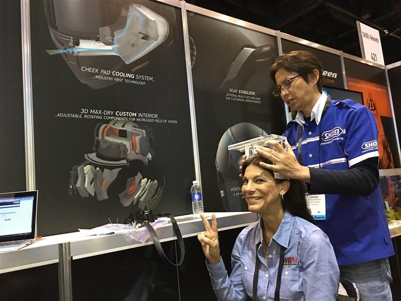 review shoei j cruise open face helmet fitment
