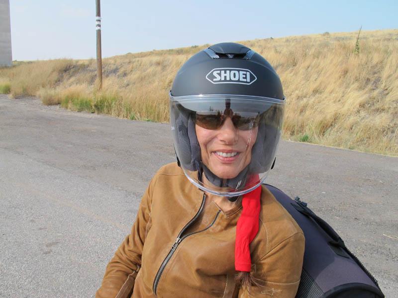 review shoei j cruise open face helmet shield