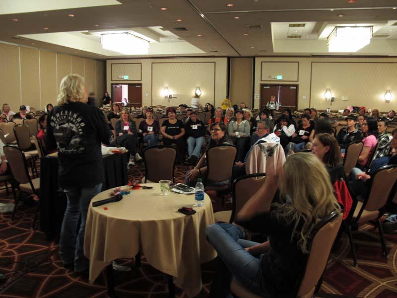 Events Steel Horse Sisterhood Summit talking stick seminar women