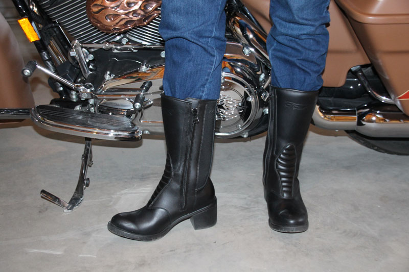 review tcx ladies classic boot front shaft