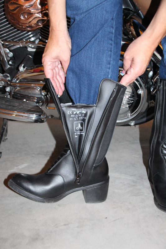 review tcx ladies classic boot gusset
