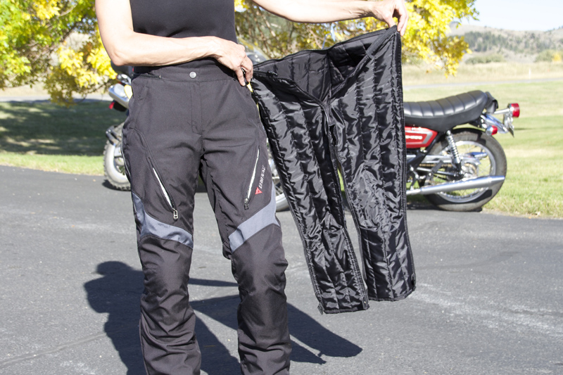 review dainese d-dry tempest jacket and pants liner
