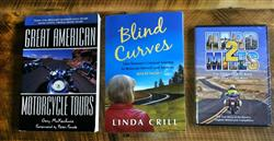 WRN Giveaway create your ultimate motorcycle getaway third prize books dvd