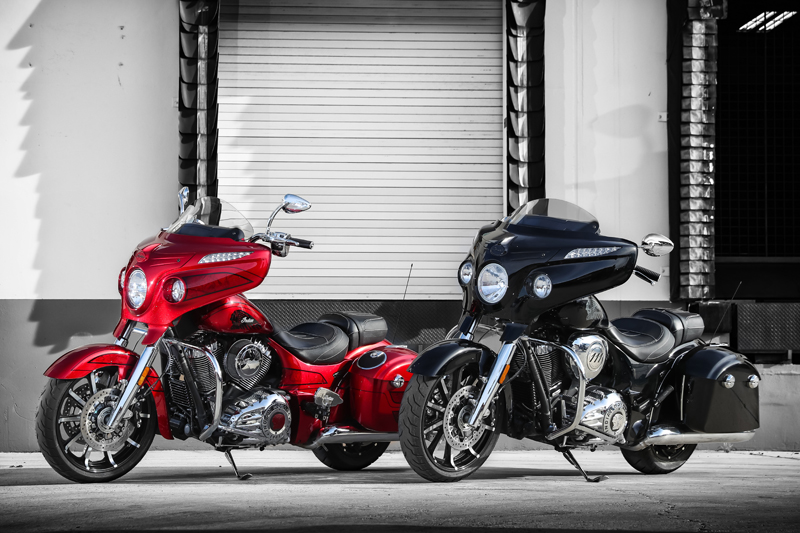 review 2017 indian motorcycle chieftain limited elite both bikes