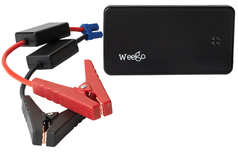 jump starter for your motorcycle battery weego JS6