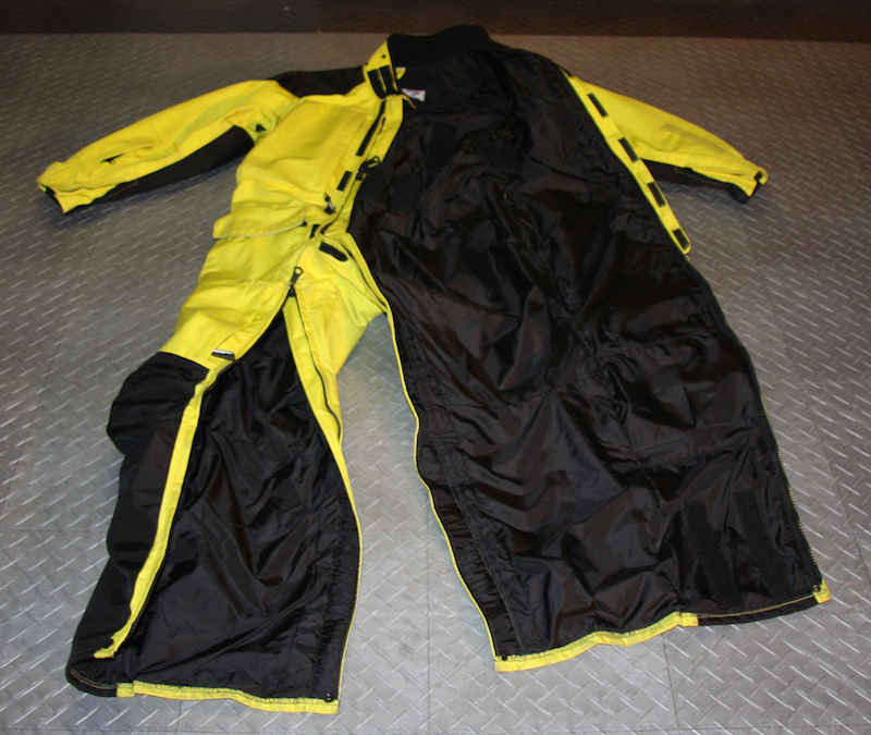review aerostich womens roadcrafter motorcycle riding suit front