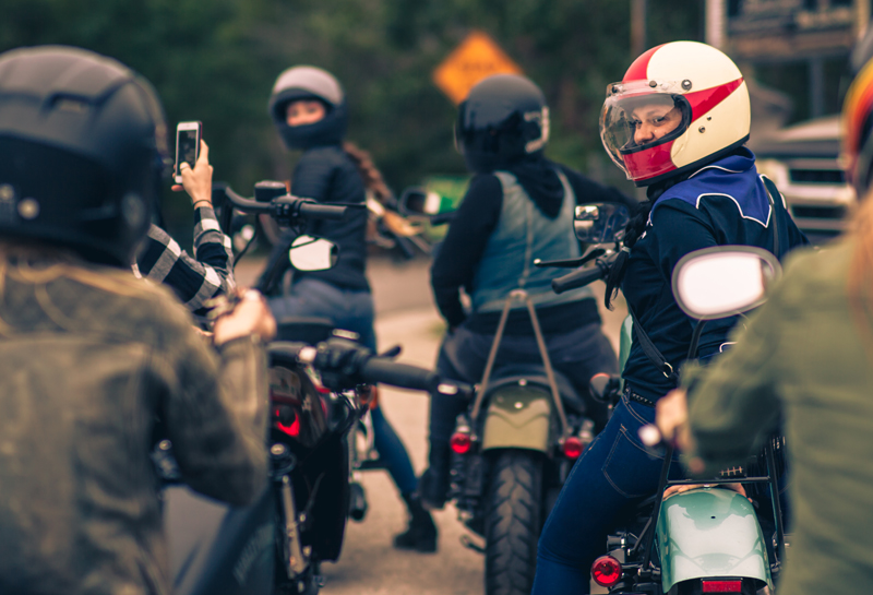 first all women camping festival taking place at sturgis riders