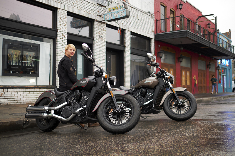 indian motorcycle unveils 2018 models scout new colors