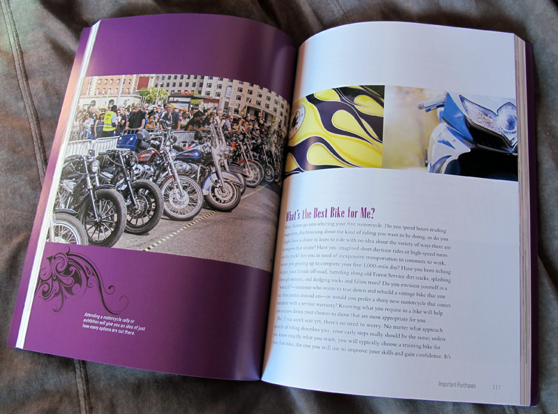 book review womens guide to motorcycling photos