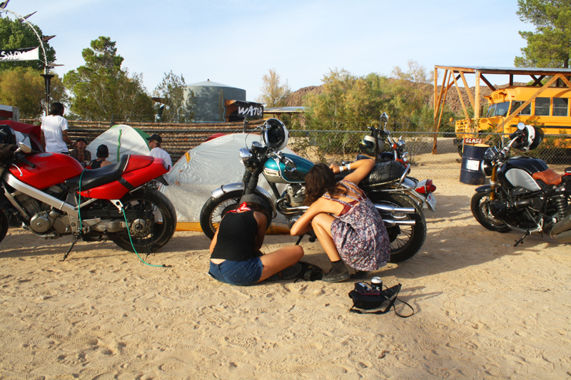 babes ride out all women motorcycling event makes history wrenching