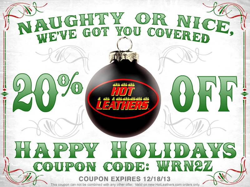 2013 WRN Holiday Gift Guide Hot Leathers