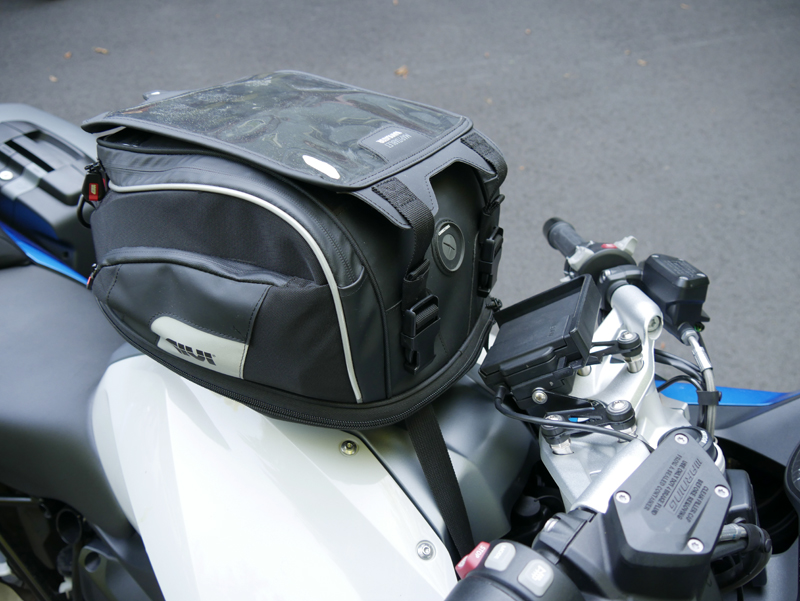 easy mount tank bags for standard sport sport-touring motorcycle tanklock attachment straps