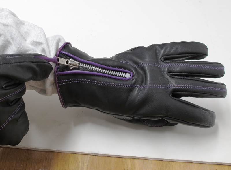 review comfortable functional inexpensive womens motorcycle gloves zipper